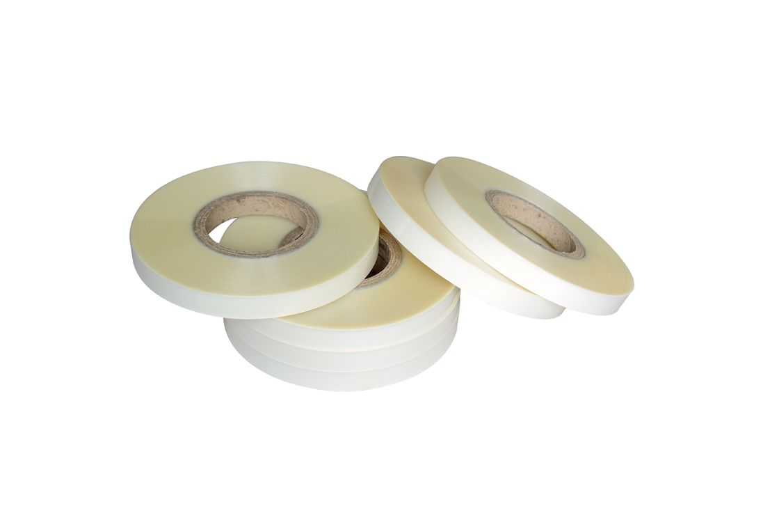 PET Tape For Semi-Automatic Box Corner Pasting Machine / Hot Tape Pasting Box Corner
